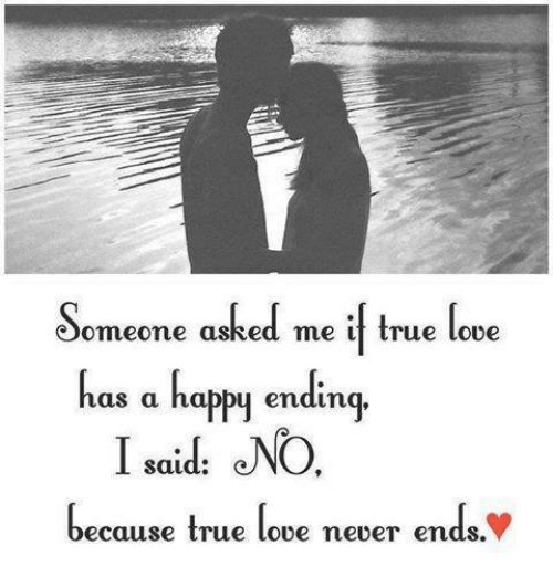 true love never ends Explore carley bonk's board a true love story never ends on pinterest | see more ideas about the words, thoughts and proverbs quotes.