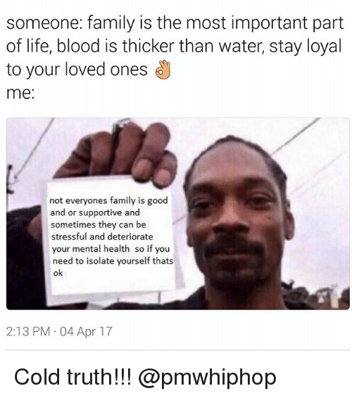 25+ Best Memes About Blood Is Thicker Than Water