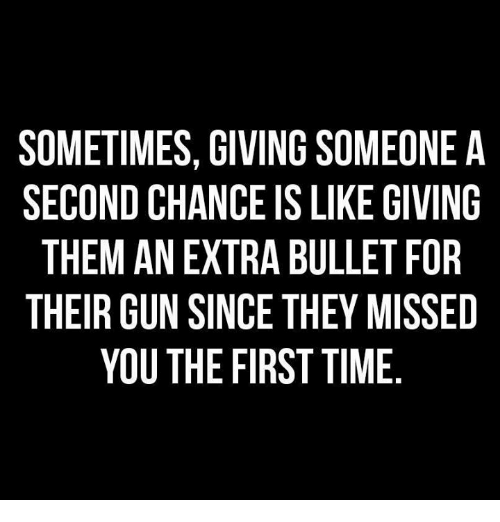 Giving Someone A Second Chance Quotes: Funny Chance Memes Of 2017 On SIZZLE