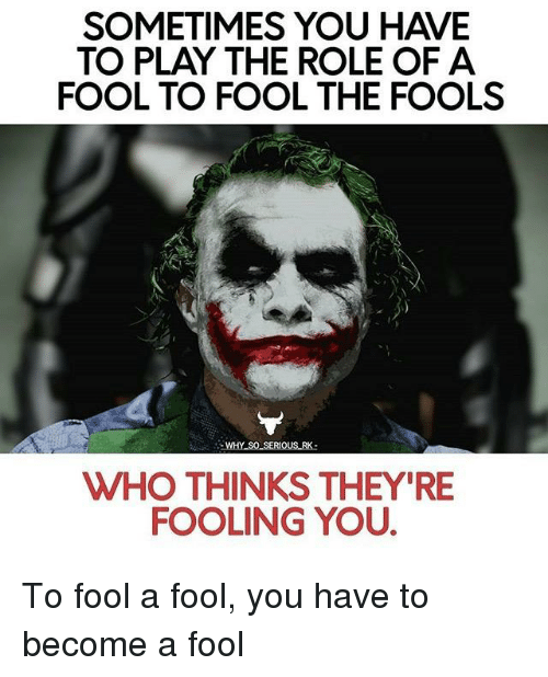 role of the fool What is the role of the fool in act 1 so far give a long answer if possible.