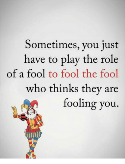role of the fool