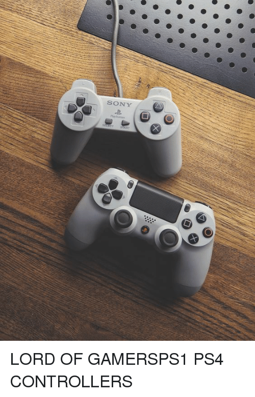 ps1: SONY LORD OF GAMERSPS1  PS4  CONTROLLERS