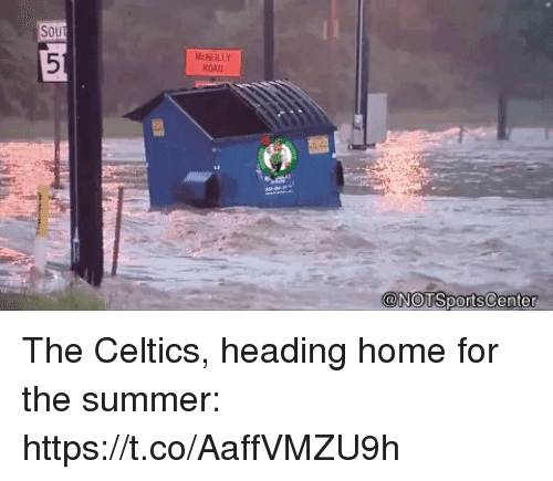 Sports, Summer, and Celtics: SOU  NchEILLY  ROD  0 The Celtics, heading home for the summer: https://t.co/AaffVMZU9h