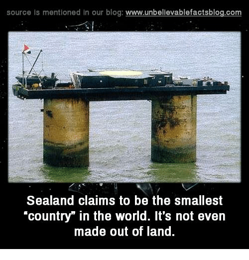 is sealand a country essay