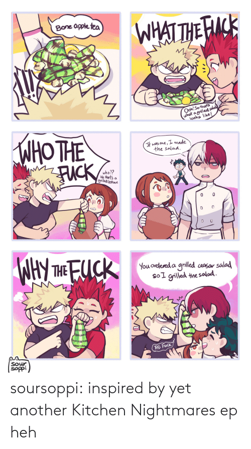 Kitchen Nightmares: soursoppi:  inspired by yet another Kitchen Nightmares ep heh