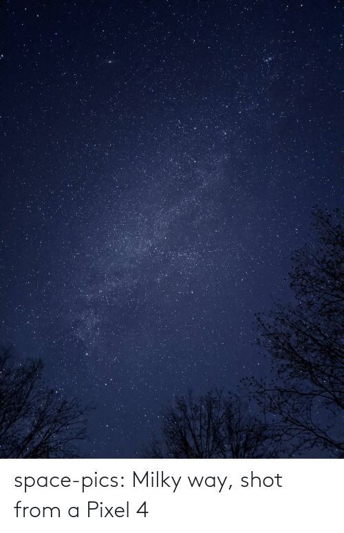 pixel: space-pics:  Milky way, shot from a Pixel 4