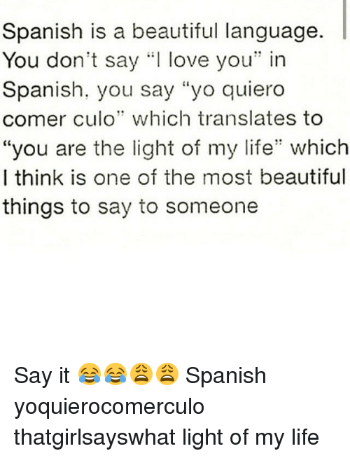 How to say you're dating someone in spanish