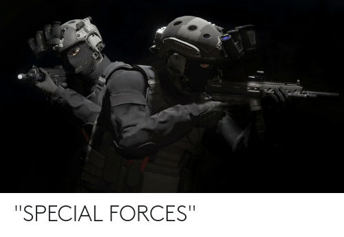 """special forces: """"SPECIAL FORCES"""""""