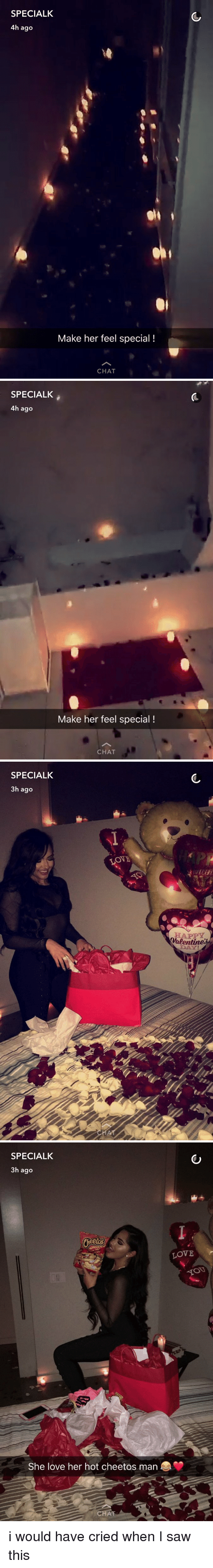 how to make my man feel special