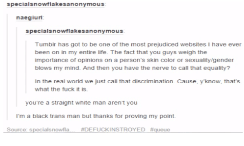 Single minded to the point of recklessness tumblr