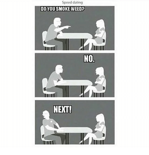 Speed dating no
