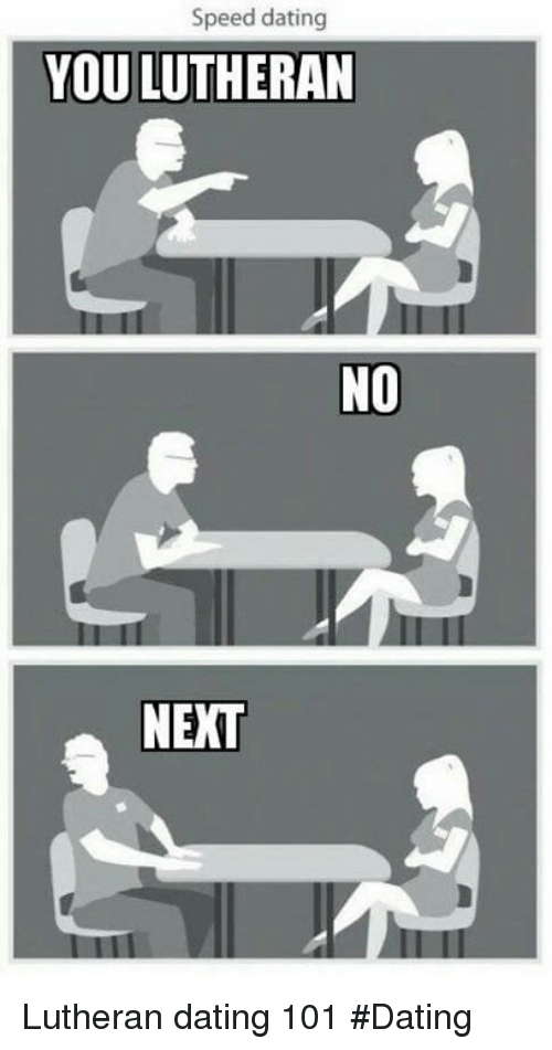 Speed dating no reply
