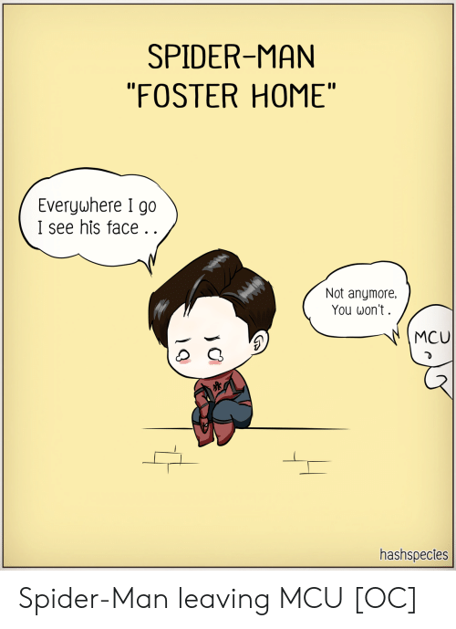 """mcu: SPIDER-MAN  """"FOSTER HOME""""