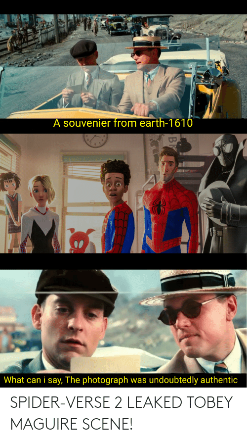 Tobey Maguire: SPIDER-VERSE 2 LEAKED TOBEY MAGUIRE SCENE!