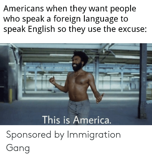 Immigration: Sponsored by Immigration Gang