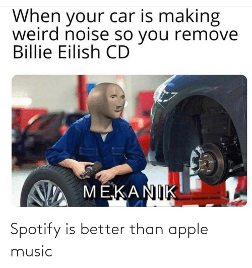 Apple Music: Spotify is better than apple music