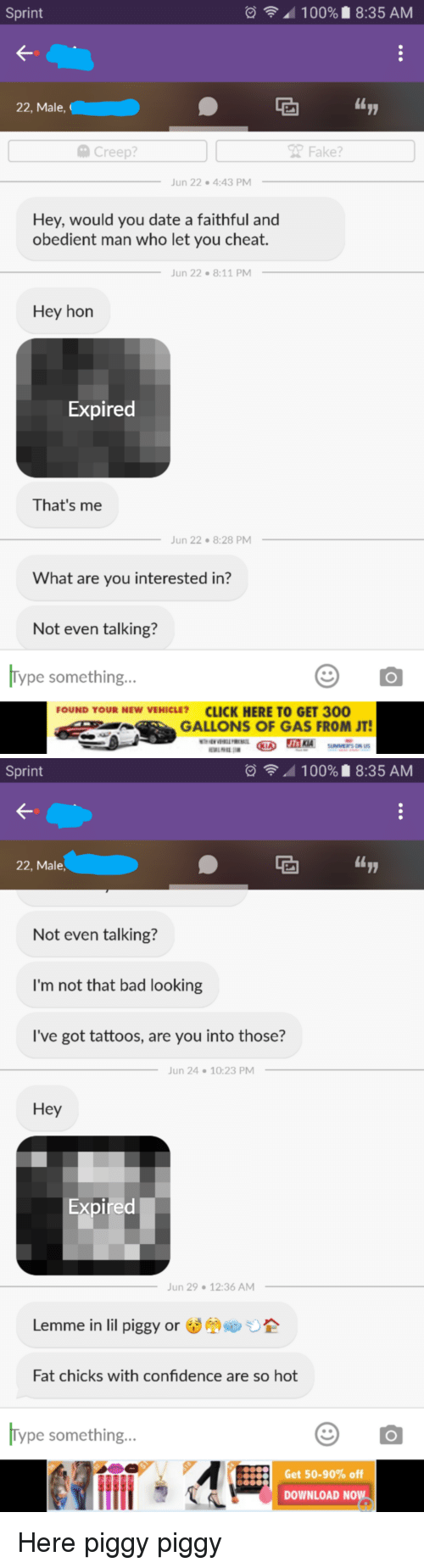 I'm not interested in dating you