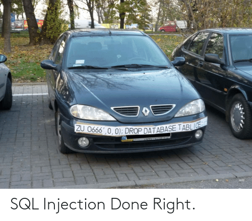Done Right: SQL Injection Done Right.
