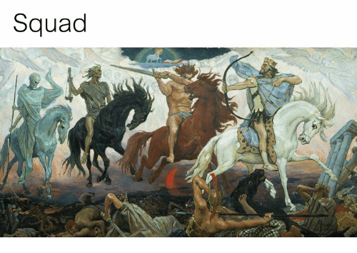 Squad and Classical Art: Squad