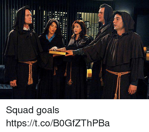 Goals, Memes, and Squad: Squad goals https://t.co/B0GfZThPBa