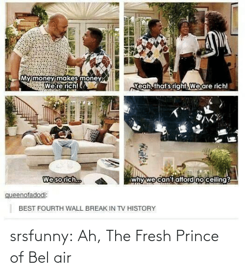 Prince: srsfunny:  Ah, The Fresh Prince of Bel air