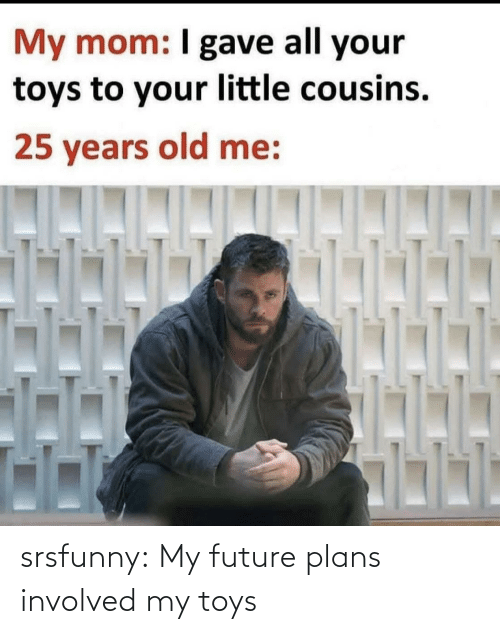 Future: srsfunny:  My future plans involved my toys