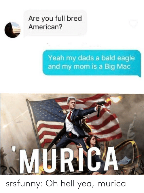 Hell: srsfunny:  Oh hell yea, murica