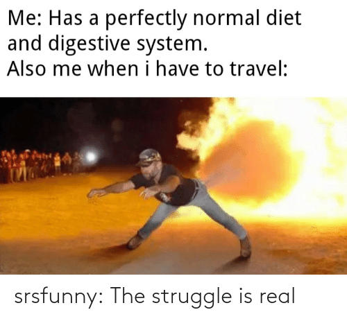 The Struggle is Real: srsfunny:  The struggle is real