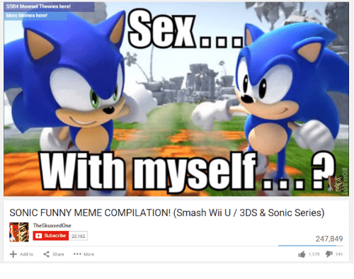 ssb4 moveset theories here sex with myself be sonic funny 1577563 ssb4 moveset theories here! sex with myself be sonic funny meme,Funny Ssb4 Memes
