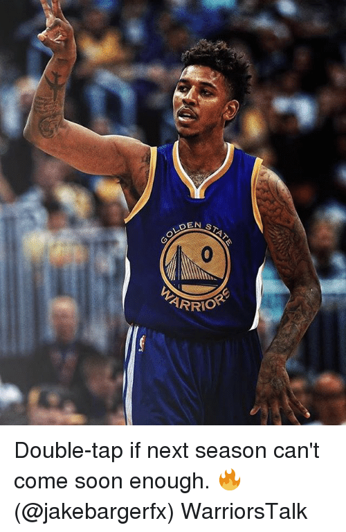 Basketball, Golden State Warriors, and Soon...: STA  OLDEN  ARRIO Double-tap if next season can't come soon enough. 🔥(@jakebargerfx) WarriorsTalk