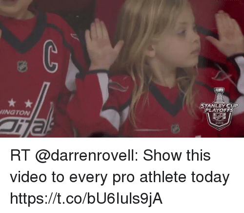 stanley cup playoffs: STANLEY CUP  PLAYOFFS  INGTONw  TTa  2018 RT @darrenrovell: Show this video to every pro athlete today https://t.co/bU6Iuls9jA