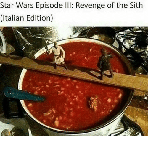 Italian (Language) and The Sith: Star Wars Episode lll: Revenge of the Sith  (Italian Edition)