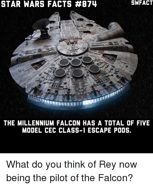 star wars facts 874 swfact the millennium falcon has a. Black Bedroom Furniture Sets. Home Design Ideas