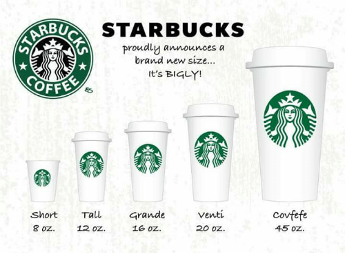 Starbucks Rbu Proudly Announces A Brand New Size It S