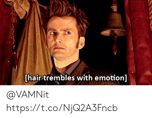 Emotion: starkidnuity  [hair trembles with emotion] @VAMNit https://t.co/NjQ2A3Fncb