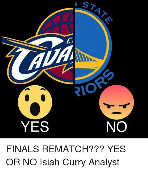 Memes, 🤖, and Rio: STAT  CI  RIO  YES  NO FINALS REMATCH??? YES OR NO  Isiah Curry Analyst