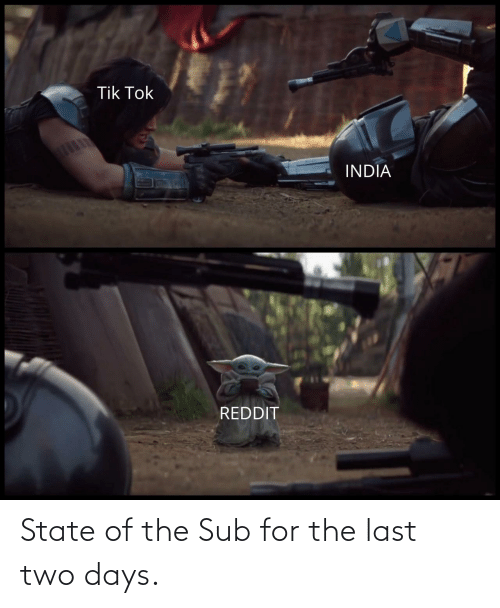 sub: State of the Sub for the last two days.