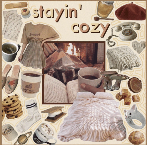 a&w: stayin'  COZY  -  Sweet  Wemories  me  a  w  ed e  sc nr  d sh  Ma  ad oudenred i  Cappuccino  YEAR