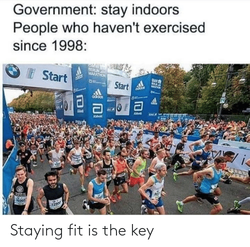 the key: Staying fit is the key