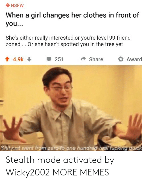 mode: Stealth mode activated by Wicky2002 MORE MEMES