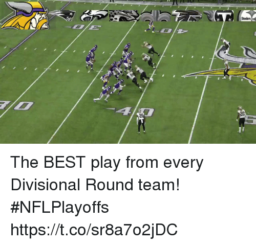 Memes, Best, and Steelers: Steelers  2  20 The BEST play from every Divisional Round team!   #NFLPlayoffs https://t.co/sr8a7o2jDC