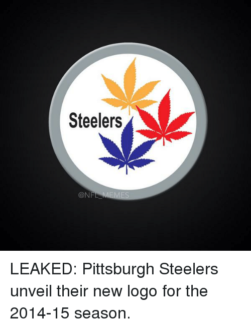 Steelers: Steelers  CON LEAKED: Pittsburgh Steelers unveil their new logo for the 2014-15 season.