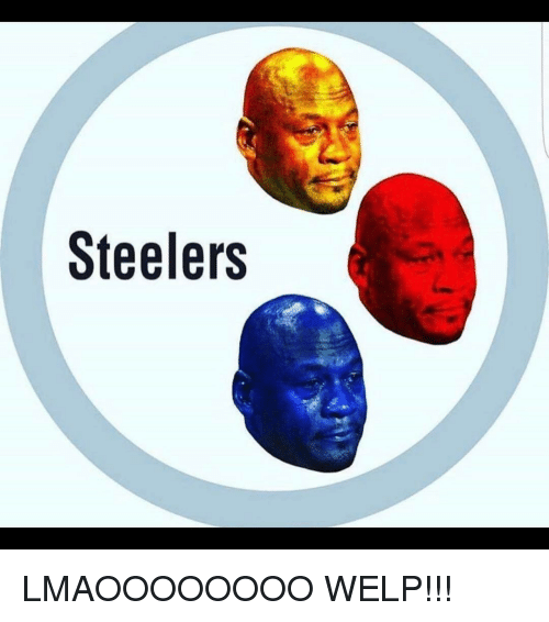 Memes, Steelers, and 🤖: Steelers LMAOOOOOOOO WELP!!!