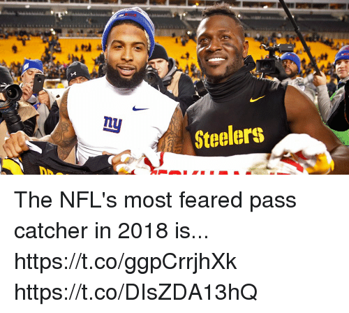 Memes, Steelers, and 🤖: Steelers The NFL's most feared pass catcher in 2018 is... https://t.co/ggpCrrjhXk https://t.co/DIsZDA13hQ