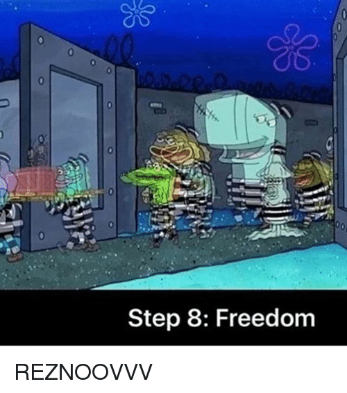 Freedomed: Step 8: Freedom REZNOOVVV