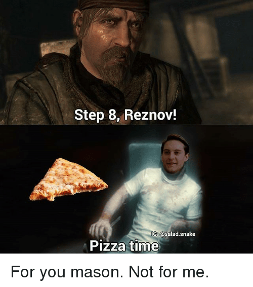 Step 8 Reznov! G Pizza Time for You Mason Not for Me ...