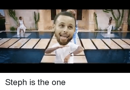 Memes, 🤖, and One: Steph is the one