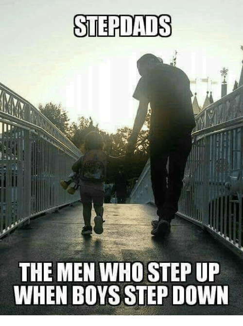 Memes, Boys, and 🤖: STEPLADS  THE MEN WHO STEP UP  WHEN BOYS STEP DOWN