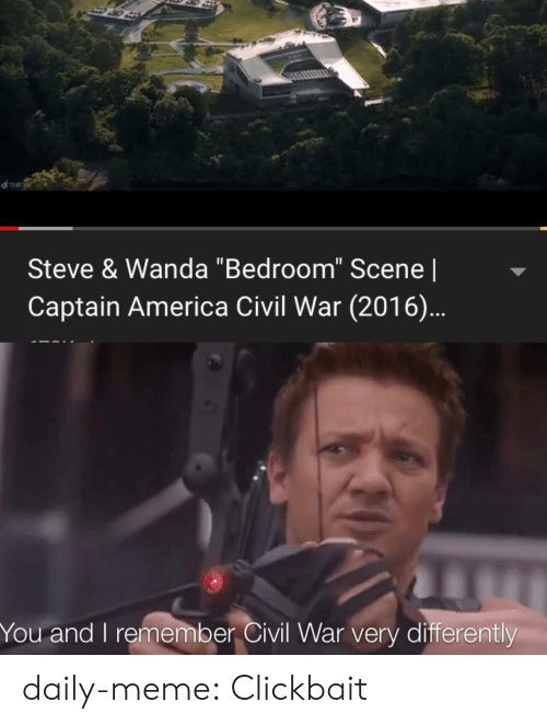 "Captain America: Steve & Wanda ""Bedroom"" Scene