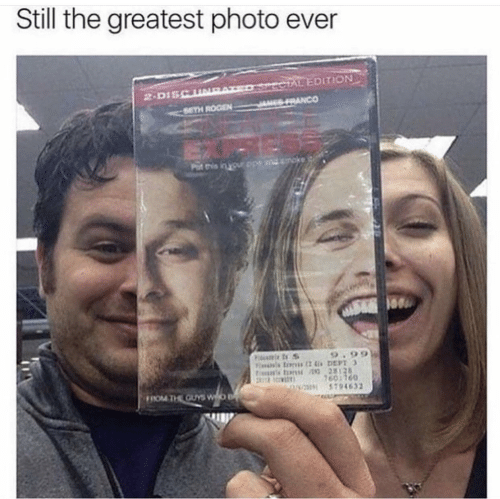 The Guys: Still the greatest photo ever  ECTAL EDITION  SRANCO  2-DISCUNE  SETH ROGEN  ndmoke  Put this in your ope  Fitumie t S  9.99  tins tons 28128  7601760  5794632  FROM THE GUYS WO B